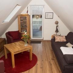 Apartment Himmel - Wohnraum
